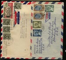 Thailand 2 nice franking covers Kl0813