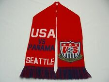 "USA VS PANAMA - SEATTLE - 7"" X 54"" - SOCCER STYLE SCARF!"