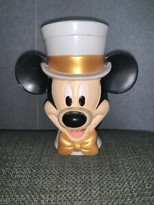 Mickey Mouse On Ice Top Hat Flip Lid 3d Cup Used Unwanted