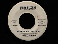 Larry Chance-Let Them Talk/Promise Her Anything-Barry 110-WLP TEENER
