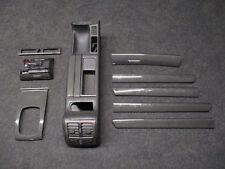 Zierleisten Set Audi S6 A6 4B CARBON Mittelkonsole schwarz SOUL