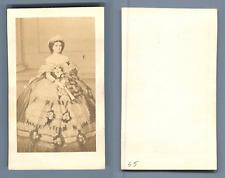 Marie-Sophie Reine de Naples et des Deux Siciles, née duchesse en Bavière Vintag