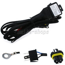 HID Xenon Hi/Lo Headlight Relay Fuse Cable Wiring Harness for H4/9003 35W/55W