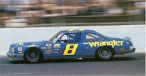 CD-628-C #8 Dale Earnhardt Sr. Wrangler Jeans Pontiac Ventura  DECALS