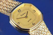 Vintage Certina Ladies Elegant Quartz Bracelet Watch 1980s Swiss ETA 950001 NOS