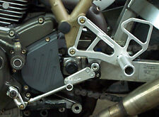 DUCATI 1999-2006 750SS / 800SS / 900SS / 1000SS WOODCRAFT REARSETS COMPLETE KIT