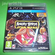 ANGRY BIRDS STAR WARS NUEVO Y PRECINTADO PAL ESPAÑA PLAYSTATION 3