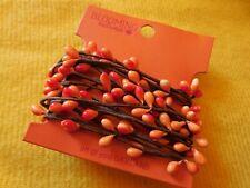 Primitive Pip Berries Rope Garland orange berries,brown vine new in package