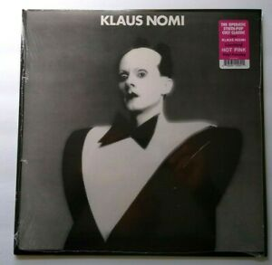 Klaus Nomi Pink Color Vinyl LP Record New Wave Synth-Pop Sealed Total Eclipse