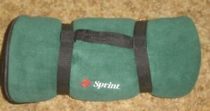 Sprint Logoed Lap Blanket w-Carrying Harness - 4' x 4 1/2' - New/Unused!