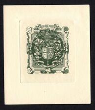 16)Nr.115- EXLIBRIS- Heraldik / heraldry - Paes Ferreira