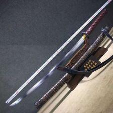 Hand Forged Japanese Sword Sharp HRC60 High Carbon Steel Samurai Katana FullTang
