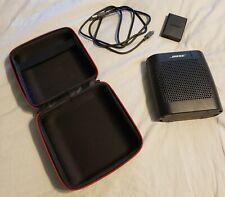 Bose SoundLink Color Bluetooth Speaker - Black with Case