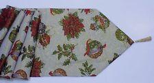"Lovely Quality Christmas Xmas Tapestry Table Runner 72"" Long"