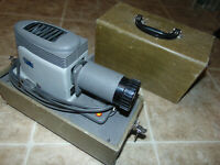 [COL] Vintage Argus 200 Portable Slide Projector Viewer with Case