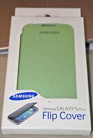 Genuine Samsung Brand Flip Open Book Case Cover for Samsung Galaxy S4 Mini Green