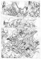 Spiderman Absolute Carnage vs. Deadpool # 3 Marvel Original Art by Jack Jadson N