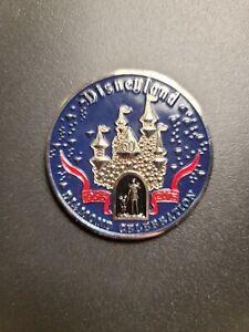 Disneyland 60th Anniversary Diamond Celebration Security Challenge Coin -...