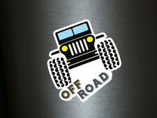 1 x Aufkleber Off Road Jeep Truck Monster Tuning Sticker Shocker Street Fun Gag