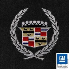 Cadillac ELDORADO 2000 LLOYD ULTIMAT MATS EBONY 4 PC WREATH & CREST FRONT MATS