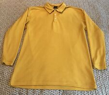 Nike Sphere Dry Shirt Mens XL Long Sleeve Yellow Athletic Activewear