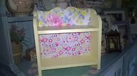 SHABBY CHIC WOODEN DISPLAY SHELF UNIT WALL STANDING MADE WITH CATH KIDSTON DESIG