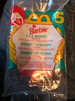 McDonald's Happy Meal BARBIE #5 U.S.A Barbie 1995, New (A01)