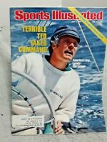 Sports Illustrated July 4 1977 Ted Turner Americas Cup Sailing Leader