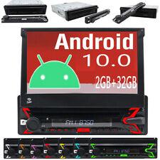 RADIO COCHE CON DVD ANDROID 10.0 NAVEGADOR GPS BLUETOOTH DAB+ WIFI USB OBD2 1DIN