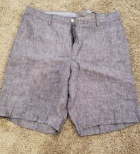 Polo Ralph Lauren Men's Chambray Blue Classic Fit Shorts Sz 32