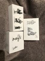 Lot of 3 Dept 56 Accessories Organ Grinder All around Town One Man Band Dog