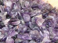Amethyst Purple Crystal Chips, 100 grams - No holes