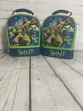Brand New Set of 2 Thermos Brand Ninja Turtle Lunch Bags