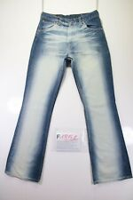 Levis 525 (Cod. F1851) Tg46 W32 L34 Jeans gebraucht hohe Taille Bootcut