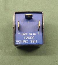 Flasher Unit 12V 21W MGF Rover MG  Landrover  UK vehicles 1995+ 3 Pin GFU2217 ?