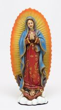 "6"" in OUR LADY OF GUADALUPE.VIRGIN MARY COLORED FIGURINE STATUE COLLECTIBLE"
