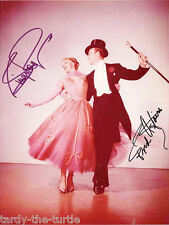 Fred Astaire & Ginger Rogers  8 x 10 Autograph Reprint   Top Hat    Funny Face