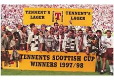 HEART OF MIDLOTHIAN FC HEARTS FC 1998 SCOTTISH CUP FINAL WINNERS EXCLUSIVE PRINT