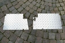 Floor Chequer Plates / Panels 3mm 330037 & 330038 for Land Rover Series 2/3