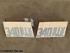 MoPar Front Fender Side Decals Dodge Challenger T/A_Trans Am 1970 NOS