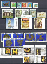COLOMBIA  PRE COLUMBIAN ART SELECTION 1975 TO 2006 MNH