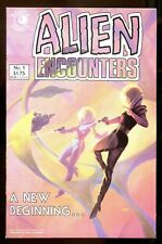 ALIEN ENCOUNTERS 1 (9.6) CHIODO ECLIPSE COMICS (b008)