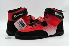 SABO POWERLIFTING DEADLIFT SHOES RED 10.5US