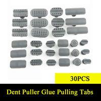 30Pcs Dent Puller Glue Pulling Tabs Car Body Paintless Dent Repair Accessories