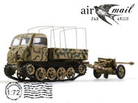 RSO with 7.5 cm Pak 40 France Normandie WWII 1944 Year 1/72 Scale Model ALTAYA