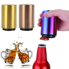 Magnetic Automatic Beer Bottle Cap Opener Stainless Down Opener. Steel Push a a