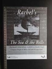 Rachel's Sea & the Bells  original 1995 in store promo poster!!! Rachels