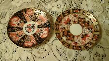 Two Antique Imari Pattern Saucers.