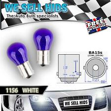 2x 1156 P21W 12V HALOGEN BULBS WHITE Q7 Seat Leon S3 skoda CANBUS ERROR FREE