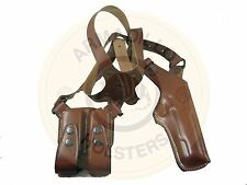 Armadillo  Tan Leather Verticall Shoulder Holster for Glock 21 (P1V-21)